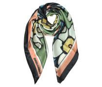 Blossom Halstuch aus bedruckter Seide