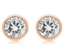 Brilliance Ohrringe aus Metall mit Kristallen