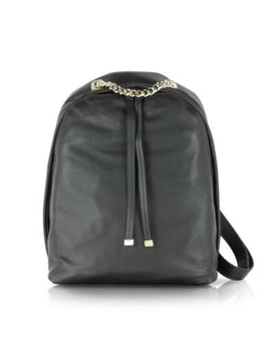 furla damen kleiner spy rucksack aus schwarzem leder 30 reduziert. Black Bedroom Furniture Sets. Home Design Ideas