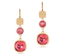 Candy - 18 KT Ohrringe aus Bronze und Gelbgold