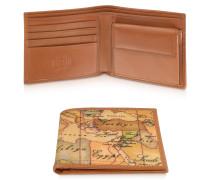 Herren-Brieftasche mit Geoprint
