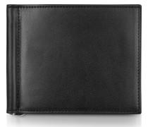 Classica Collection - Brieftasche aus schwarzem Kalbsleder