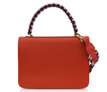 Leather Mini Expanding Shoulder Bag