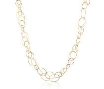 Scintille - Halskette aus 18k Gelbgold
