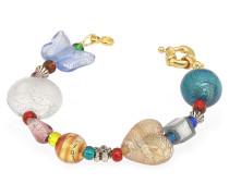 Fanny - buntes Armband mit Muranoglasteilen