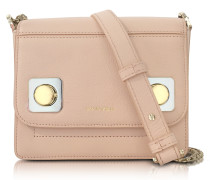 Mercer Petit Nude Leather Shoulder Bag