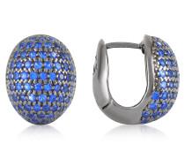 Ohrringe mit blauen Zirkonsteinen