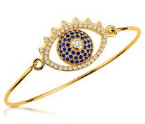 Eye Armband mit Anhänger