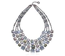 Atelier Byzantium - Halskette aus Silber und Muranoglas