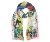 Defilé Printed Chiffon Silk Stole