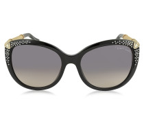 TANIA 979S Sonnenbrille aus Acetat mit Kristallen