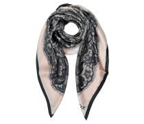 Boutique Moschino Tuch aus Seide mit Spitzen-Print