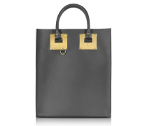 Charcoal Albion Mini Tote Bag
