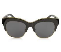 SC0075S Cat Eye Damen Sonnenbrille aus Acetat