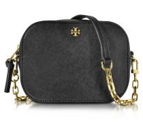Robinson Saffiano Leather Round Crossbody Bag