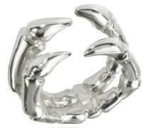 Silberner Ring mit Keramikbeschichtung