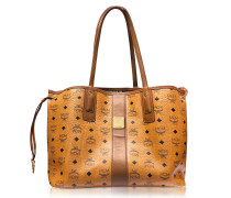 Cognac Shopper Project Visetos Liz Reversible Medium Tote