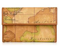 Brieftasche mit Geoprint