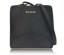 Pablito Black Leather Shoulder Bag