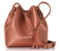 Pur Mini Bucket Handtasche aus weichem Leder