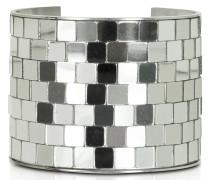 Mirror Manschetten-Armreif in silberfarben