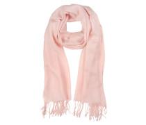 Stola aus Wolle und Kaschmir in pink