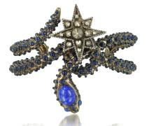 Snake Star Armreif mit blauen Steinen