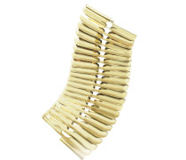 Armband aus vergoldetem Metall