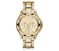 Karl 7 Iconic Unisex Chrongraphenuhr in gold
