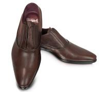 Treno - Oxford Halbschuhe ohne Schnürsenkel aus Leder