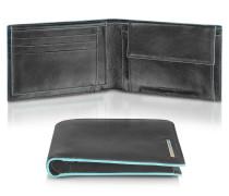 Blue Square - herrenbrieftasche und Kartenetui aus Leder