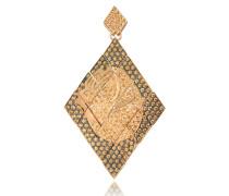 Mono Ohrringe aus Silber mit Zirkon