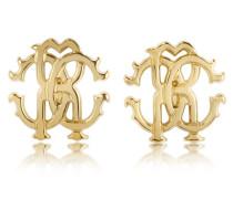 RC Lux Golden Stud Earrings