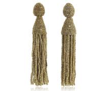 Classic Long Tassel Clip-On Earrings