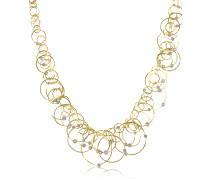 Scintille Anniversary - Halskette aus 18k Gelbgold mit Diamanten