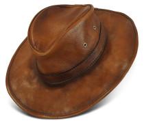 Hut aus echtem Leder