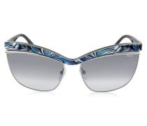 EP0009 Fantasy Cat Eye Sonnenbrille aus Metall