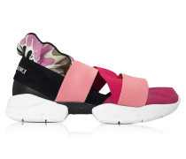 Peonia Pink Suede Sneakers