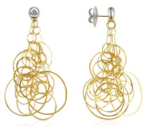 Scintille - Ohrringe aus 18k Gold mit Diamant