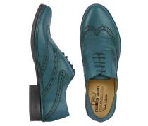 Handgearbeitete Oxford Schuhe aus italienischem Leder mit Budapester Muster