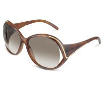 Oroya - Sonnenbrille mit runden Gläsern und Logo