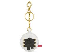 Gaia - Runder Schlüsselanhänger mit Logo