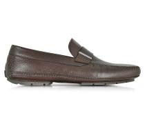 Miami Driver Schuhe aus Hirschleder mit Gummisohle
