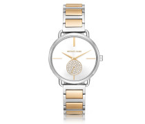 Portia Two-Tone Stainless Steel Women's Watch