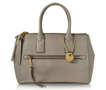 Recruit East West Mink Leather Tote