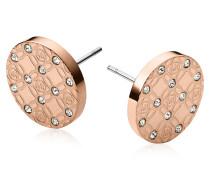 Heritage Ohrringe aus Metall mit Kristallen
