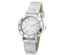 Crystal Lady - Armbanduhr mit Perlmutt