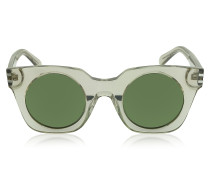 MJ 532/S Circle in a Square Sonnenbrille aus Acetat