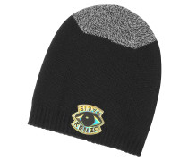 Signature Color Block Wool Eye Beanie