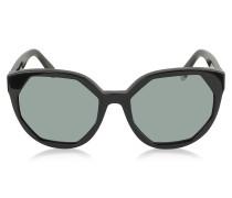 MJ 585/S Oversized runde Sonnenbrille